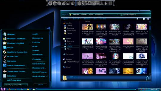 Windows 7 Themes 3rd Party Visual Styles Windows