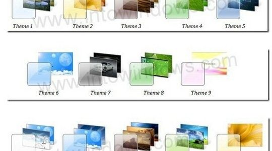 14 Windows 7 Themes Pack