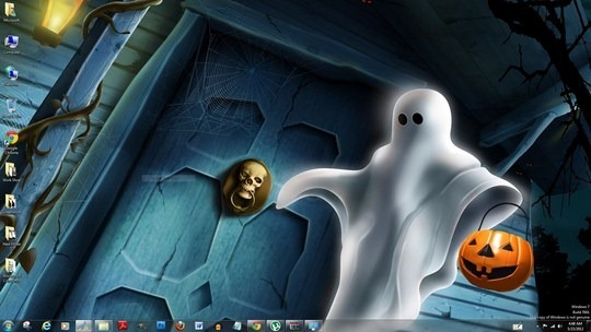 best halloween windows 7 theme windows themes free - Windows 7 Halloween Theme