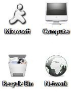 Download Free Dark Windows 7 Theme Icons Cursors 2