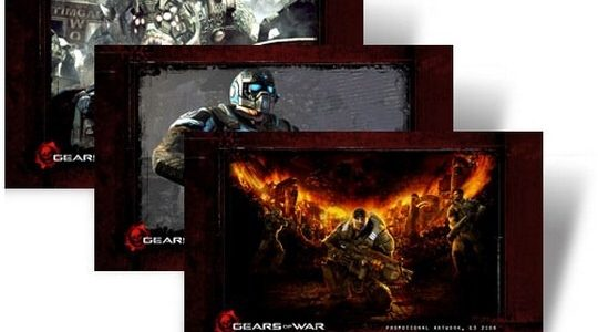 Gears Of War Windows 7 Theme With Game's Sounds