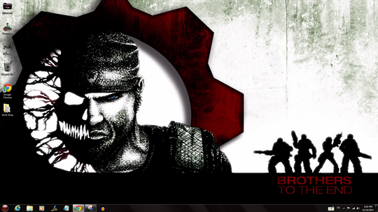 Gears Of War 3 Windows 7 Theme Icons Cursors Sounds (1)