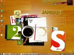 Smashing Magazine 2010 New Year Windows 7 Theme Icons Sounds Cursors