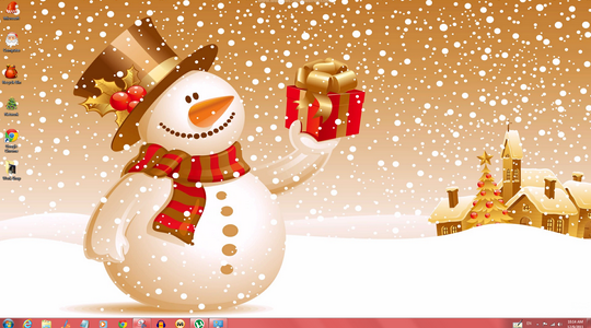Cool Windows 7 Christmas Theme