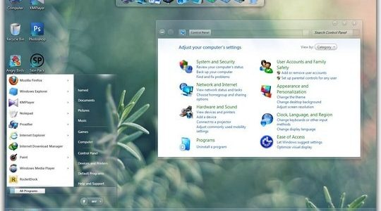 Radiance Windows 7 Skin Pack