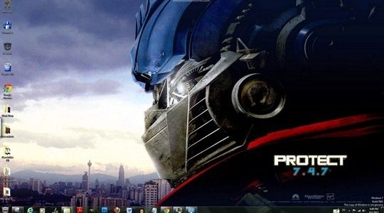 Transformers Windows 7 Theme