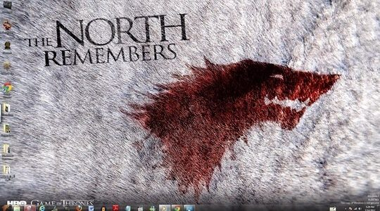 Game Of Thrones Windows Theme With Icons, Startmenu, Sounds & Cursors