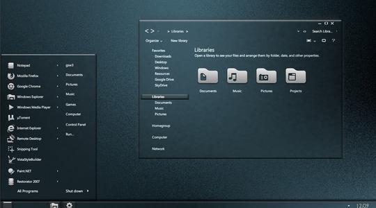 Chameleon 2 Windows 7 Visual Style