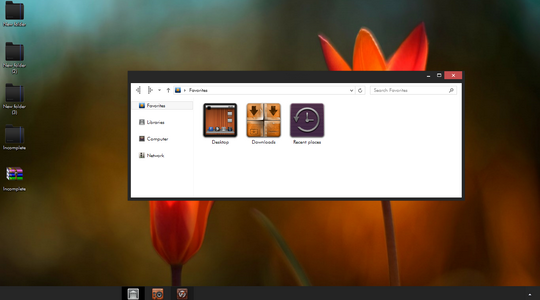 """Incomplete Windows 8 Visual Style """"x86 only"""""""
