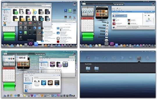 Download Free iOS Windows 7 Skin Pack