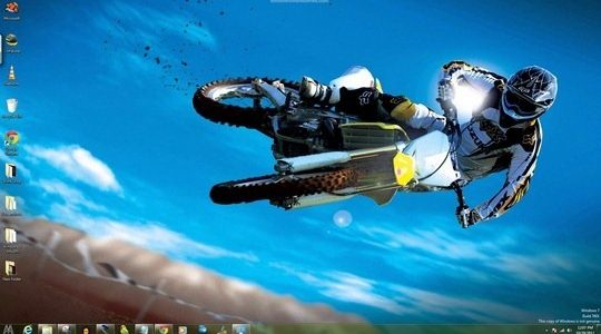 Moto 2 Windows 7 Theme