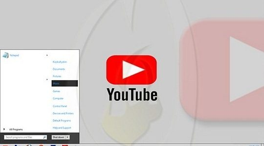 Youtube Windows 7 Visual Style