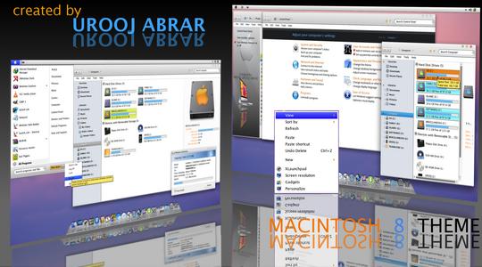 Macintosh Windows 7 Visual Style