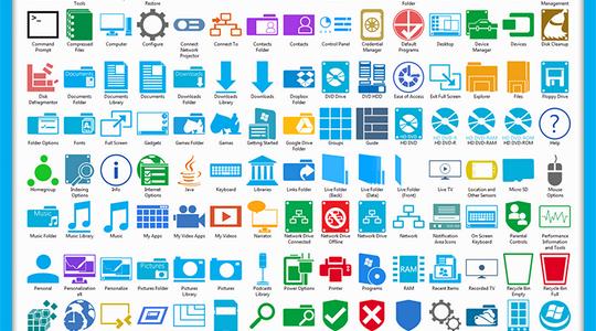 Metro Windows 7 Icon Pack