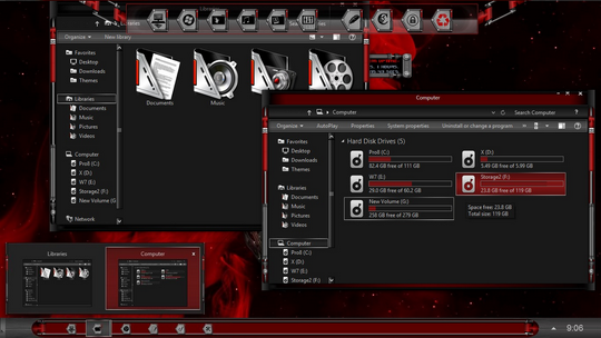 Download Free Mechanism Windows 8 Visual Style