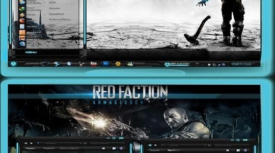 RED-FACTION Windows 7 Visual Style