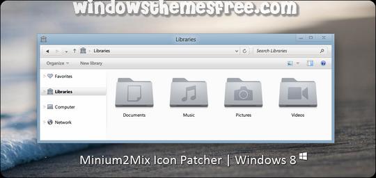 Minium2mix Windows Icon Pack
