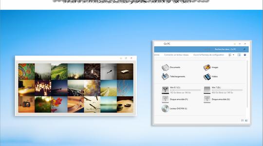 Miti Windows 8 Visual Style