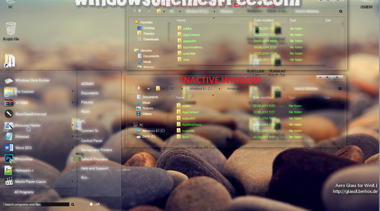 Glassy8.1 Green Windows 8.1 Visual Style