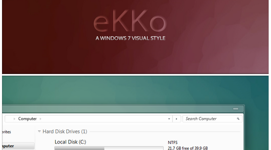 eKKo Windows 7 Visual Style