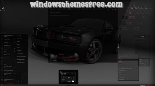 Red Demon Windows 7 Visual Style