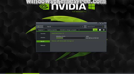 nVidia Windows 8.1 Visual Style